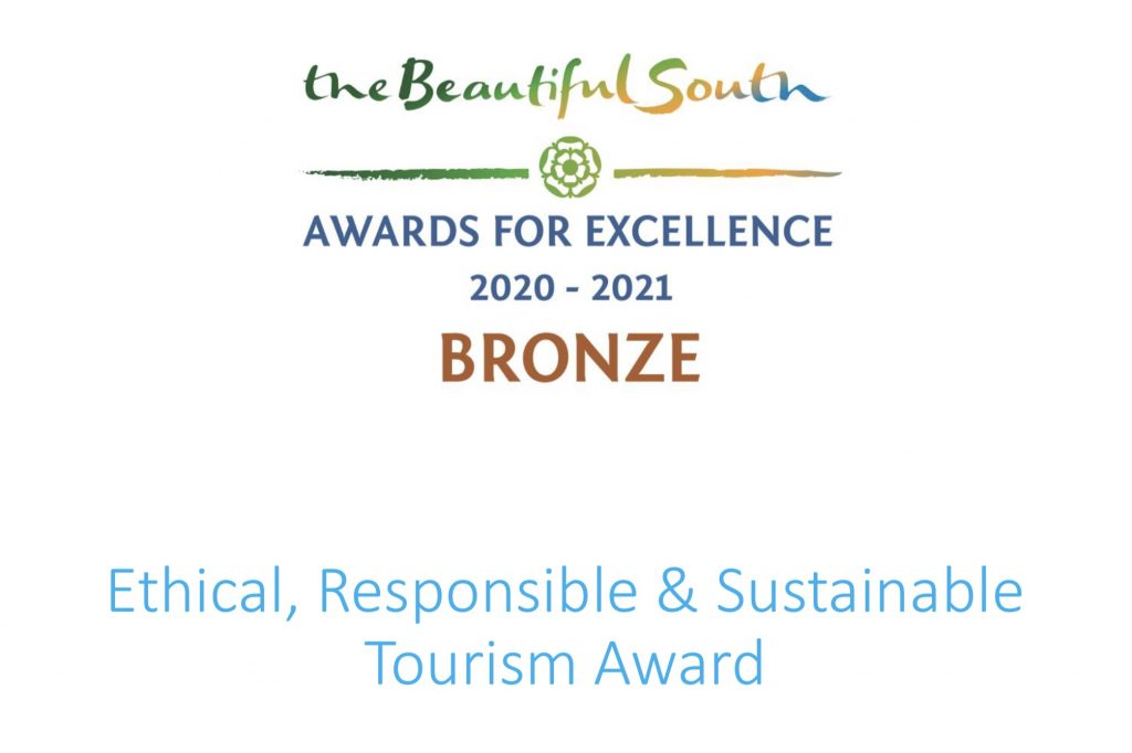 ethical, Responsible and Sustainable tourism award